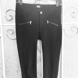 Paige Legging Style Pants Women's Size 24 Black